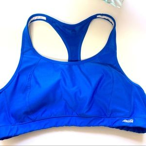 Avia blue stretch sports bra XXL